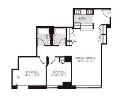LUXURY Renovated 2Bed/2Bath, High Ceilings, New...