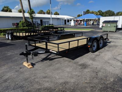 2018 Triple Crown 6X16 w/Brakes and Ramps Utility Trailers Fort Pierce, FL