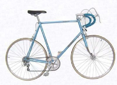 $300 Raleigh Super Grand Prix Touring Bicycle Road Bike Vintage 1980 (Aves in Salt