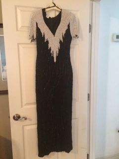 Formal Beaded Gown