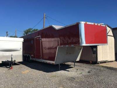 2001 United 42' Enclosed Racing Trailer