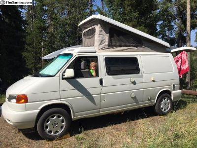 1997 VW Eurovan Winnebago Pop Top Camper