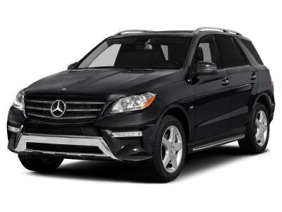 2014 Mercedes-Benz M-Class ML550 4MATIC (Black)