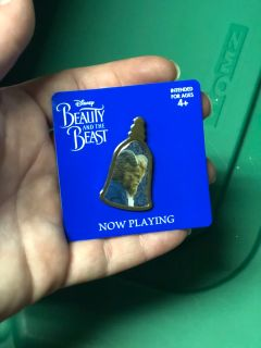 RARE Beauty and the Beast live action promo pin