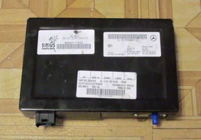 Buy 2007 2008 2009 Mercedes S550 SIRIUS SATELLITE RADIO RECEIVER, 2218206589, OEM motorcycle in North Hollywood, California, United States, for US $119.00