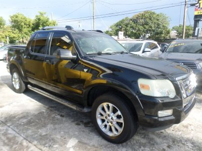 2007 Ford Explorer Sport Trac Limited (Black)
