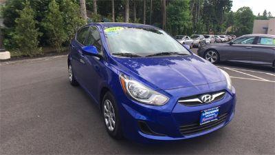 2014 Hyundai Accent GS (Marathon Blue Pearl)