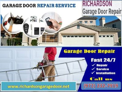 24/7 Garage Door Repair and Replacement ($25.95) Richardson, TX