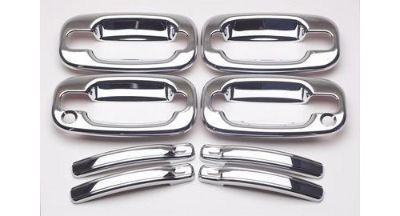 Sell Putco Door Handle Trim ABS Plastic Chrome Chevy GMC SUV Silverado Sierra SetOf4 motorcycle in Tallmadge, Ohio, United States, for US $59.01