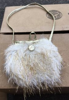 Small Hairy Faux Fur Purse