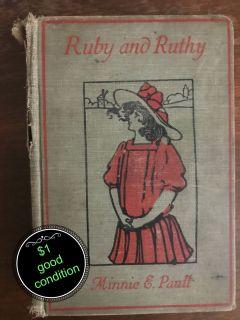 Ruby & Ruthy vintage hardback