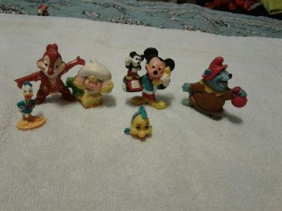 Mini toy lot most from 80's and 90's Disney Strawberry Shortcake