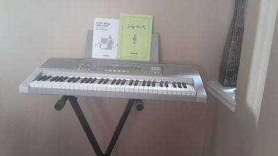 casio piano CTK 810 with stand,manual