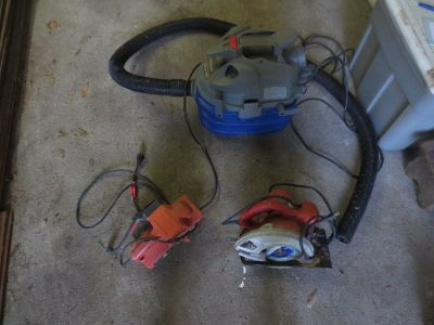 Misc. power tools -cleaning house