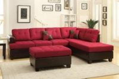 Sectional with ottoman $700