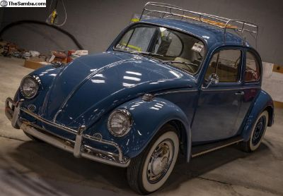 1967 Beetle, Factory Air Conditioning, AC Restored