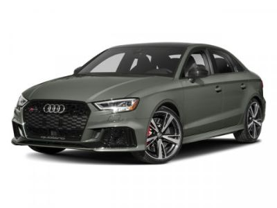 2018 Audi RS 3 BLACK W/ROCK GRAY (Nardo Gray)