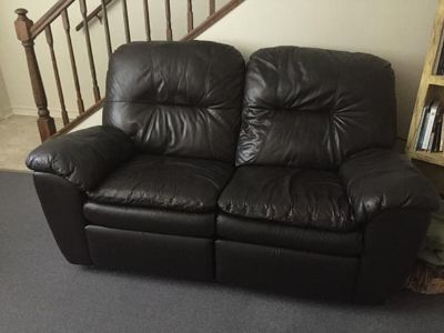 $550, Recliner leather couches