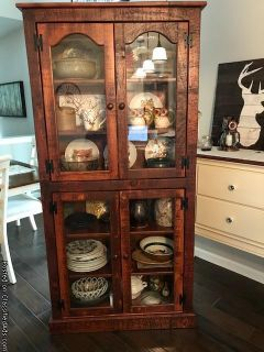 Beautiful Rustic China Cabinet