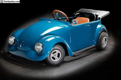 One-of-a-kind VW Beetle Convertible Go Kart