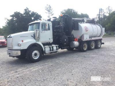 Vactor Hydro-Excavation Body on 2012 Western Star 4900SA Tri/A Truck