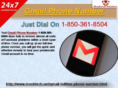 Is Gmail Phone Number A Highly Recommended Medium 1-850-361-8504?