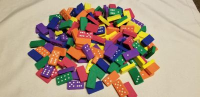 Learning Resources Foam Dominoes