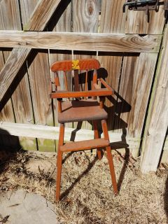 Vintage High Chair for Doll