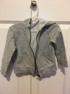 Carter s 24 month gray hoodie
