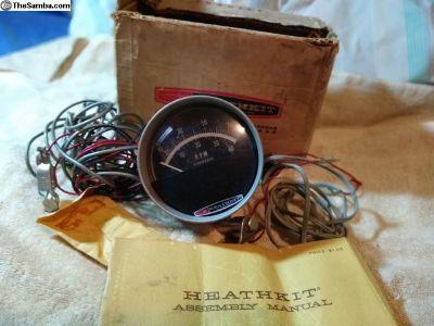 Vintage Heathkit Tachometer 6v or 12v