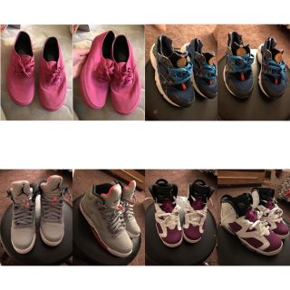 Bunch of different Shoes and sizes