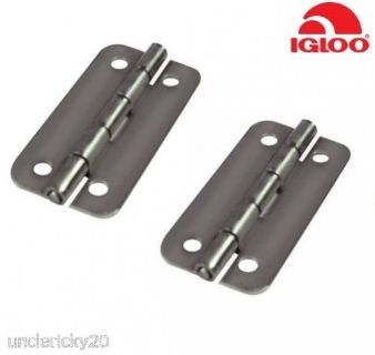 Find SeaChoice Pair (2) Genuine Igloo Cooler Replacement Stainless Steel Hinges 24005 motorcycle in Valley Head, Alabama, United States, for US $17.75