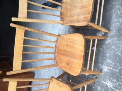 Chairs - Wood (4)