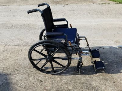 Wheelchair with Comfort One Cushion