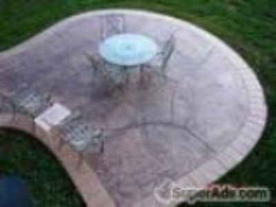 StampedDecorative Concrete MANHMEVT