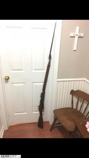 For Sale: 1898 M91 SA Finnish Mosin, NO IMPORT MARKS, WITH BAYONET