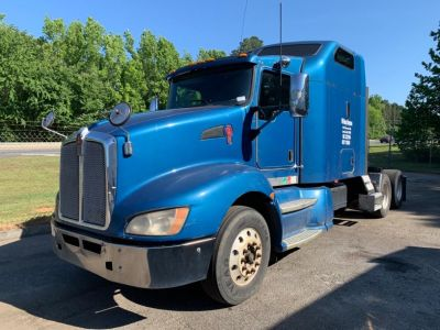 2009 Kenworth T660 Midroof (Blue)