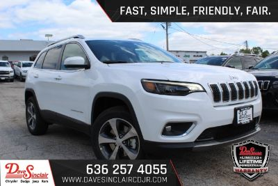 2019 Jeep Cherokee (Bright White Clearcoat - White)