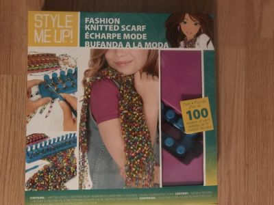 Fashion knitted Scarf Kit