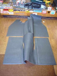 Buy VW TYPE 1 BUG 1960-1967 SEDAN INTERIOR RUBBER FLOOR MAT SET IN GREY motorcycle in Long Beach, California, United States, for US $120.00