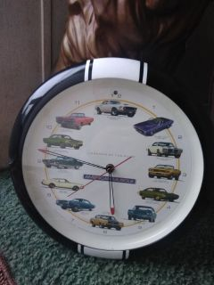Legends of the road American muscle clock