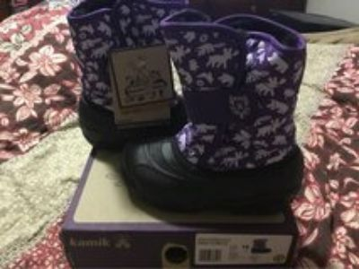 Winter Snow Boots by kamik Snowbug 3 Sz 10