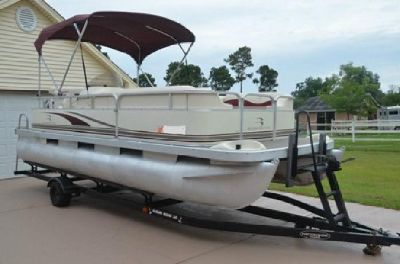 *~sq;~~2002 Bennington Pontoon 205L~;~