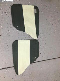 Rear door panels