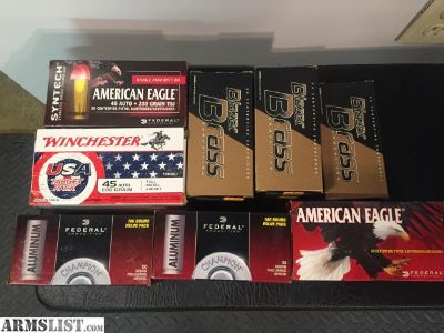For Sale: 45 ammo