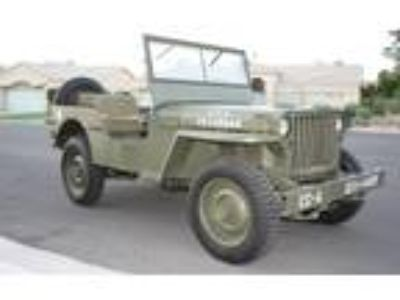 1943 Ford Jeep GPW