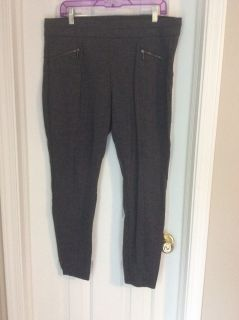 Maurice s Dark Grey stretchy dress pants XL regular length