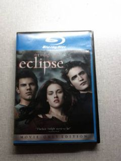 Eclipse, The Possession, and Abduction Blu-Rays