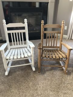 Child rocking chairs from cracker barrel