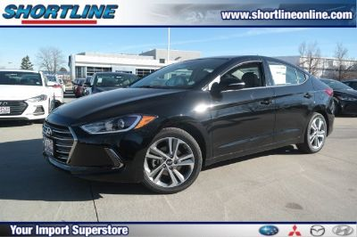 2018 Hyundai Elantra Limited (Black Diamond)